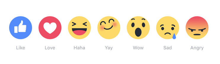 how to get more reactions on facebook