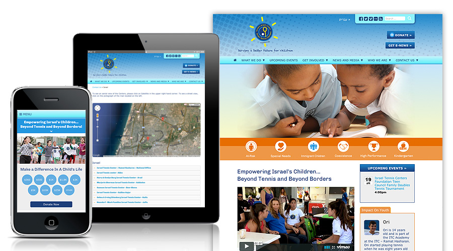 custom web design for nonprofits case studies