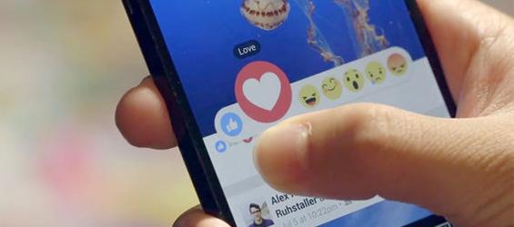 Facebook Reactions Buttons